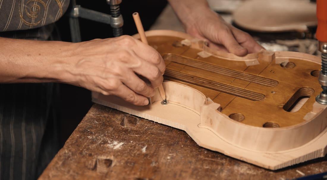 progettazione di un violino