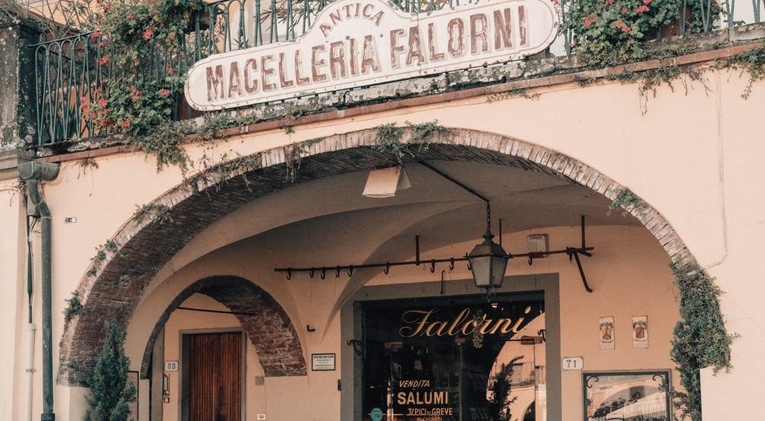 Ingresso Macelleria Falorni