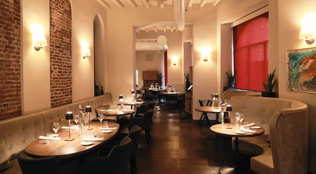 fine dining cena romantica