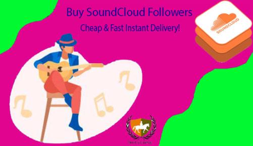 Buy Cheap SoundCloud Followers