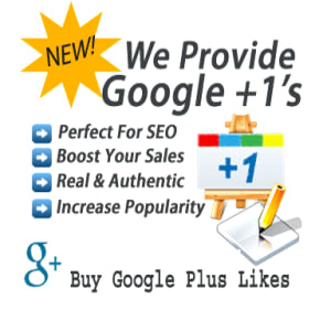 Google Plus Likes