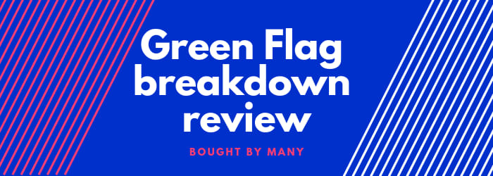 Review: Green Flag breakdown cover