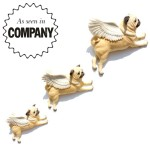 Set of 3 flying Pugs, £99.99<