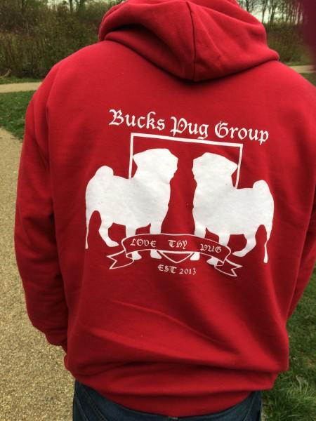 a pug hoodie