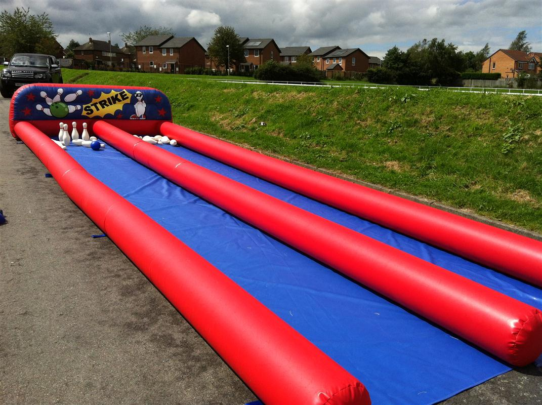 35x12x4ft Skittle Bowling Alley Bb 105a Inflatable