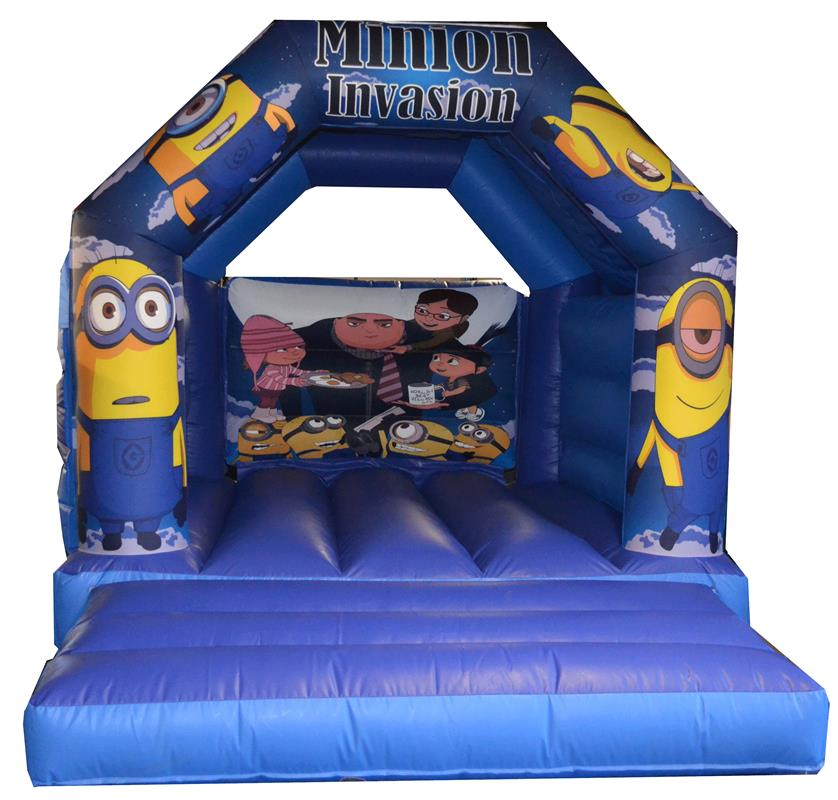 Trampoline Party Glasgow: Bouncy Castle Hire,Rodeo Hire In Glasgow