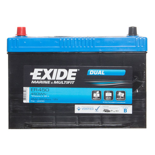 95AH Exide Leisure Battery