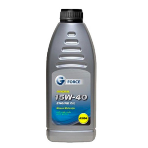 G-Force 15W-40 Mineral Engine Oil 1L