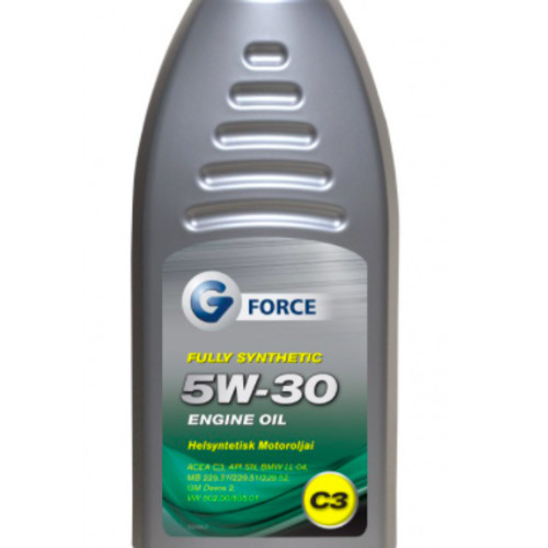 G-Force 5W-30 C3 Fully Synthetic Engine Oil 1L