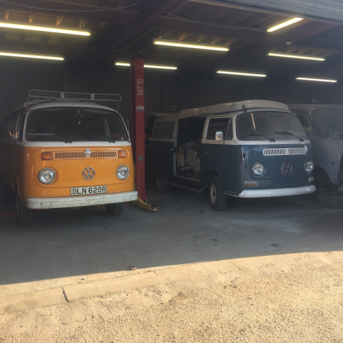 VW T2 Campers