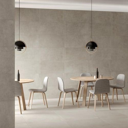 August Greige Concrete-Effect Porcelain