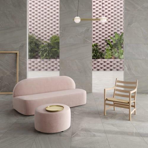 Avastone Grey Stone-Effect Porcelain