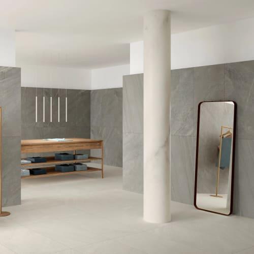Avastone White Stone-Effect Porcelain