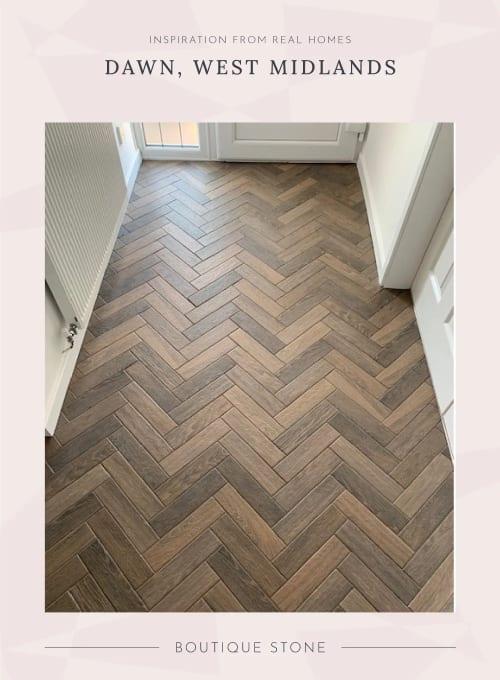Prescott Herringbone Wood-Effect