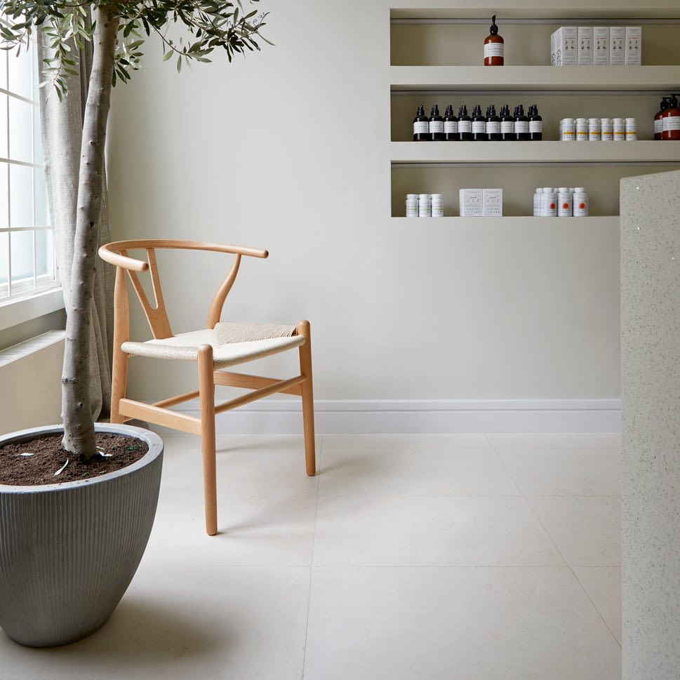 Our Limestone tiles come in a variety of natural alluring tones and a rich variety of fossils, mineral deposits, and veins. Browse our stunning Jura, Dijon, Digby and more