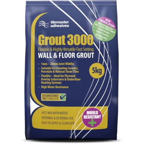 After tiles are laid, grout is needed for the gaps between the tiles. Our grout is epoxy meaning it will not let water seep through. Additionally, it is anti-bacterial to keep nasty mould away!