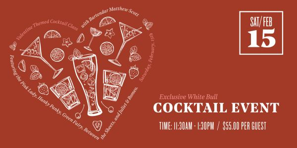 Event Image for Valentine Themed Cocktail Class