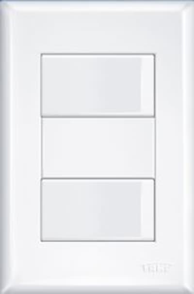 INTERRUPTOR 2 SIMPLES DIST 16A C/P EV FAME 2904