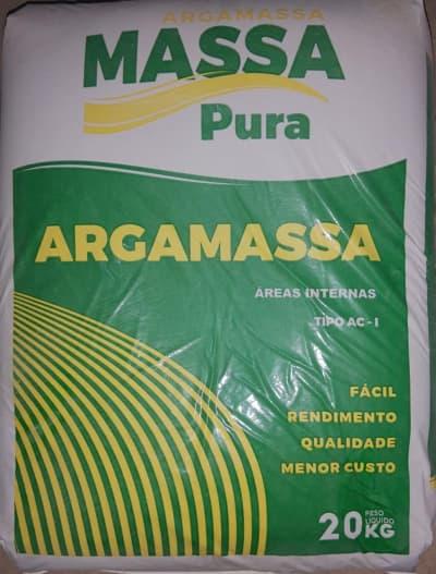 ARGAMASSA MASSA PURA AC I 20KG