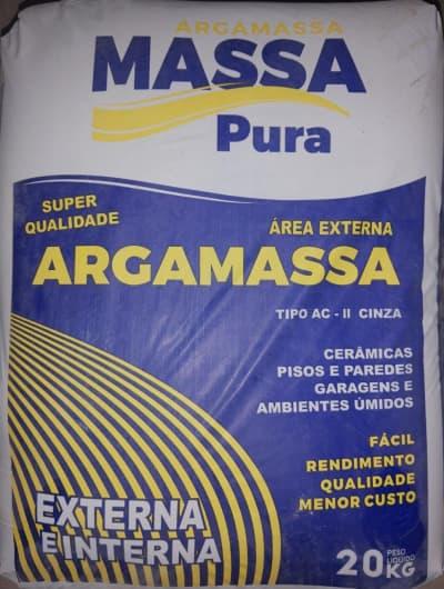 ARGAMASSA MASSA PURA AC II 20KG