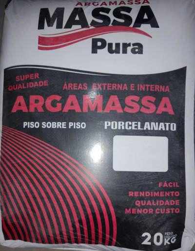 ARGAMASSA MASSA PURA AC III 20KG