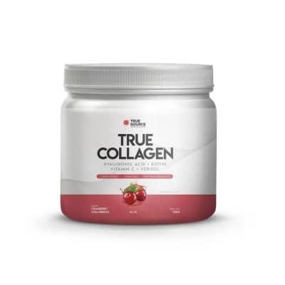 Colágeno Sabor Cranberry com Hibisco True Source 420g  (SEM GLÚTEN E SEM LACTOSE)