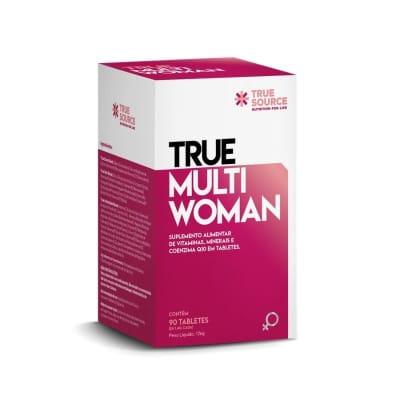 Polivitamínio Multi Woman True Source 90 cápsulas  (SEM GLÚTEN)