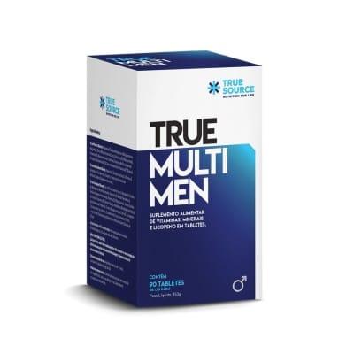 Polivitaminico Multi Men True Source 90 cápsulas  (SEM GLÚTEN)