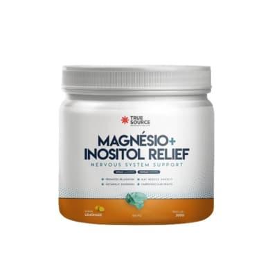 Magnésio Inositol True Source 300g  (SEM GLÚTEN E SEM LACTOSE)