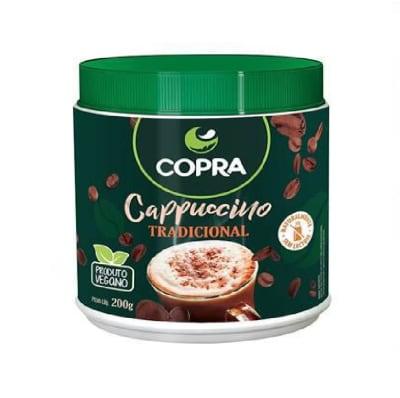 Cappuccino em Pó Sabor Tradicional 200g - Copra