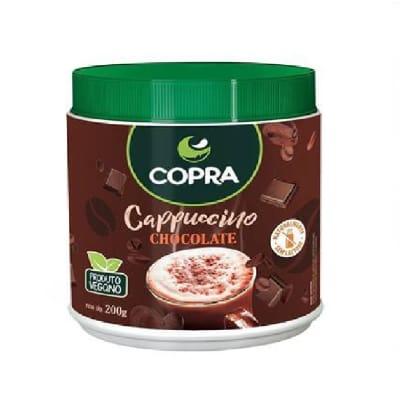 Cappuccino em Po Sabor Chocolate 200g - Copra