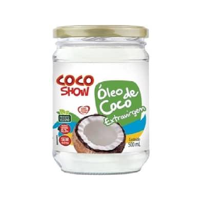 Oleo de Coco Extra Virgem 500ml - Coco Show ( SEM GLUTEN )