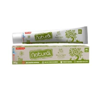 Creme Dental Organico Sem Fluor Camomila 80g - Suavetex