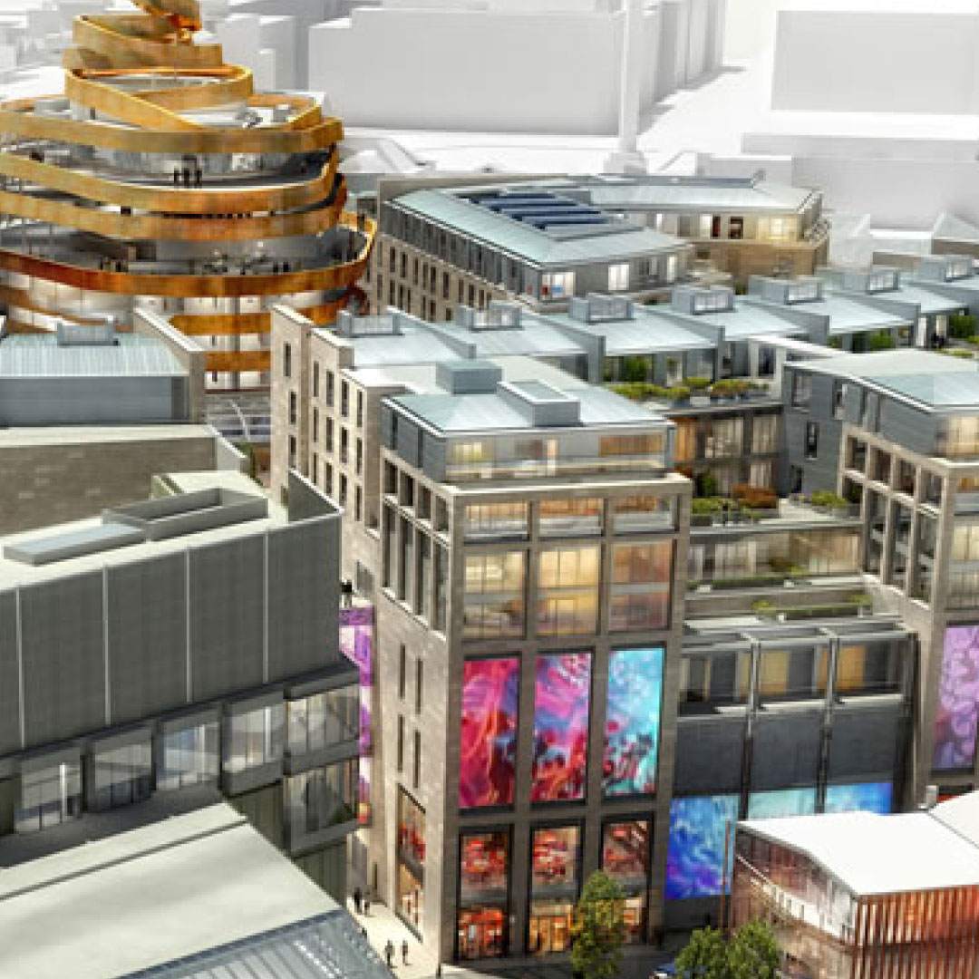 Enabling works mark exciting phase for Edinburgh St James as project celebrates milestone year