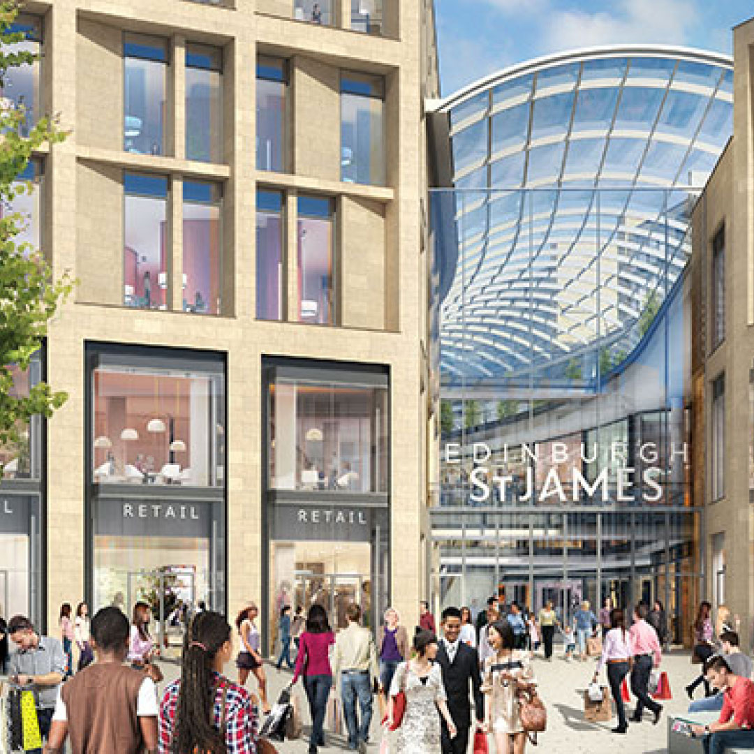 Edinburgh St James hotel and residential investment opportunities launched