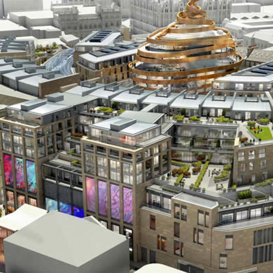 New Edinburgh St James Development To Be Anchored By John Lewis