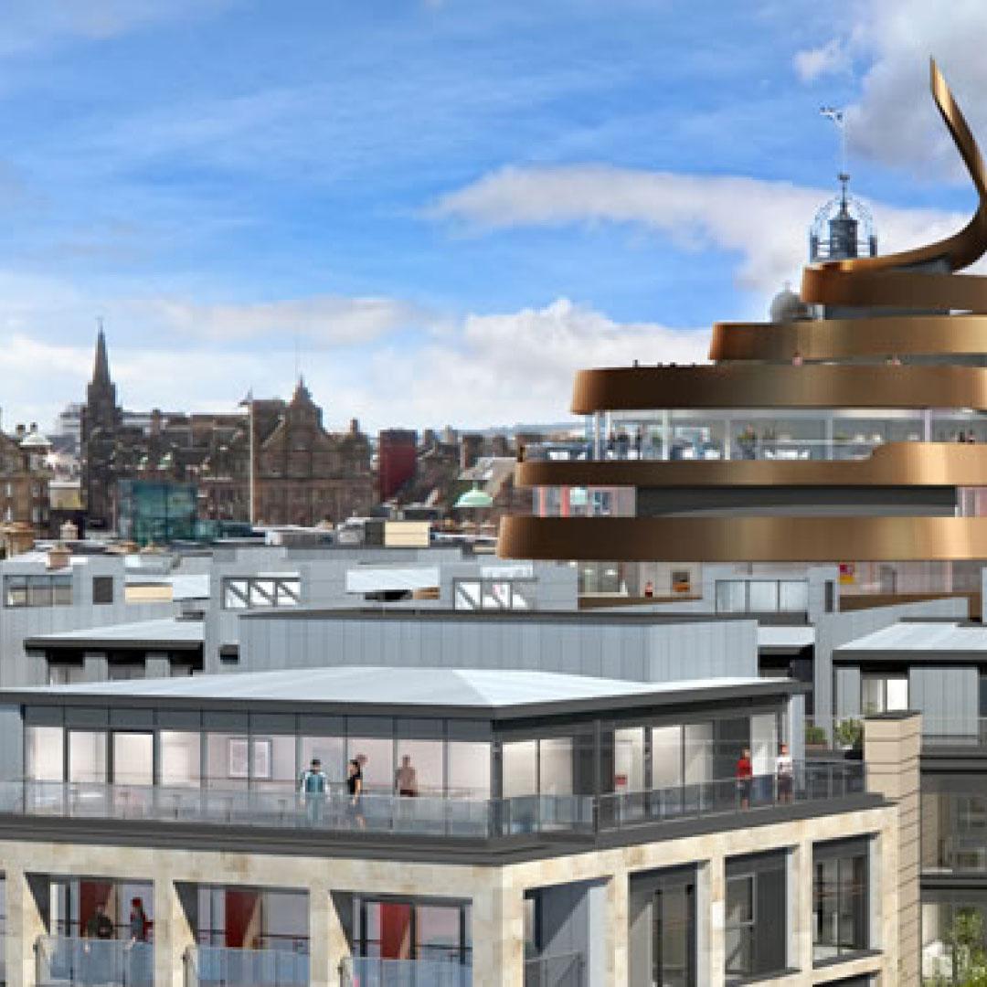 APG & TH Real Estate to transform Edinburgh city centre Partnership will deliver £1 bn Edinburgh St James development