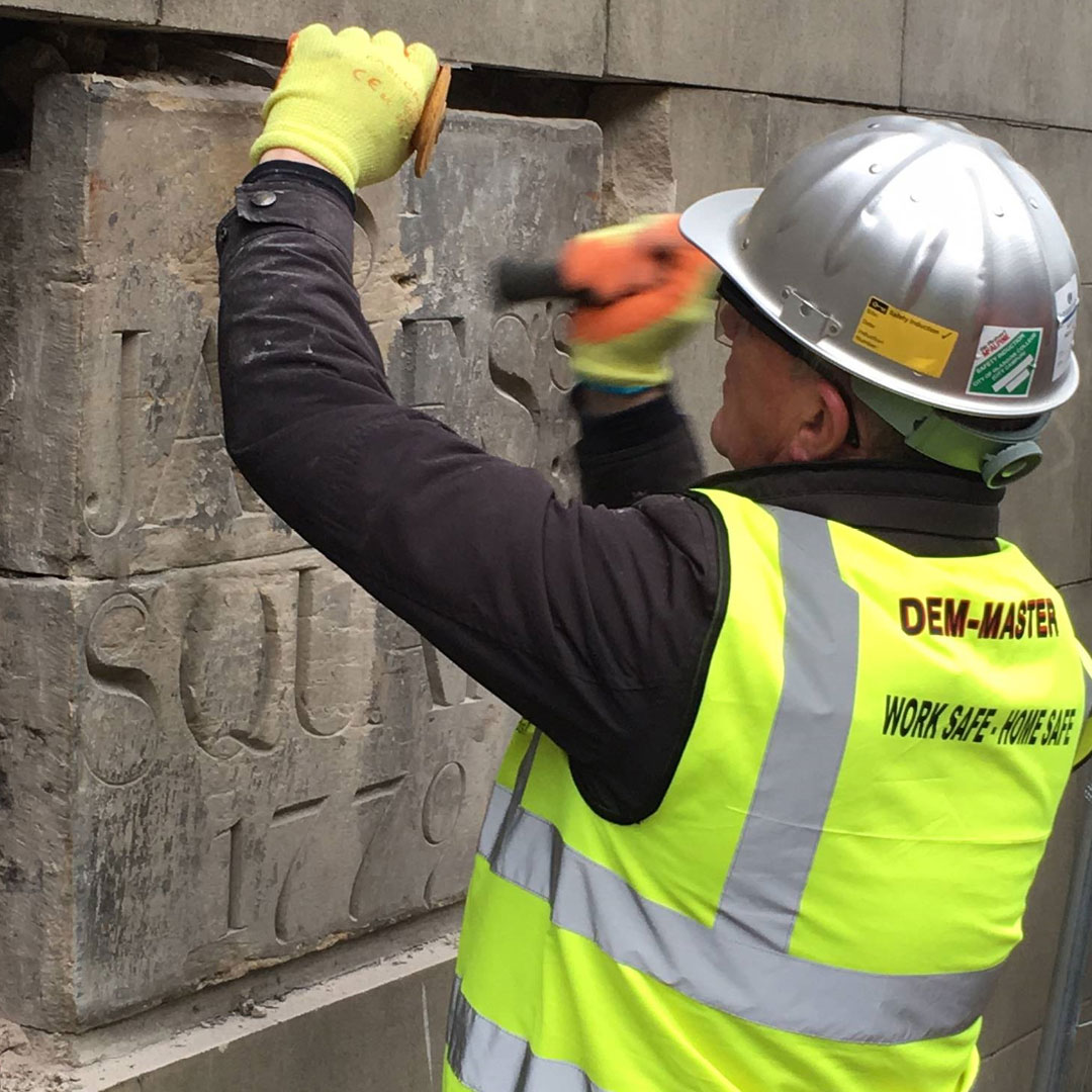 A date to remember: Protecting a piece of history, as Edinburgh St James progresses