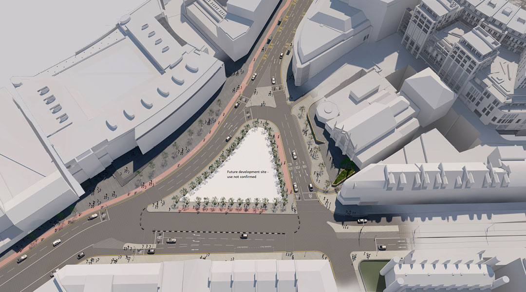 Proposals for Picardy Place to go on display