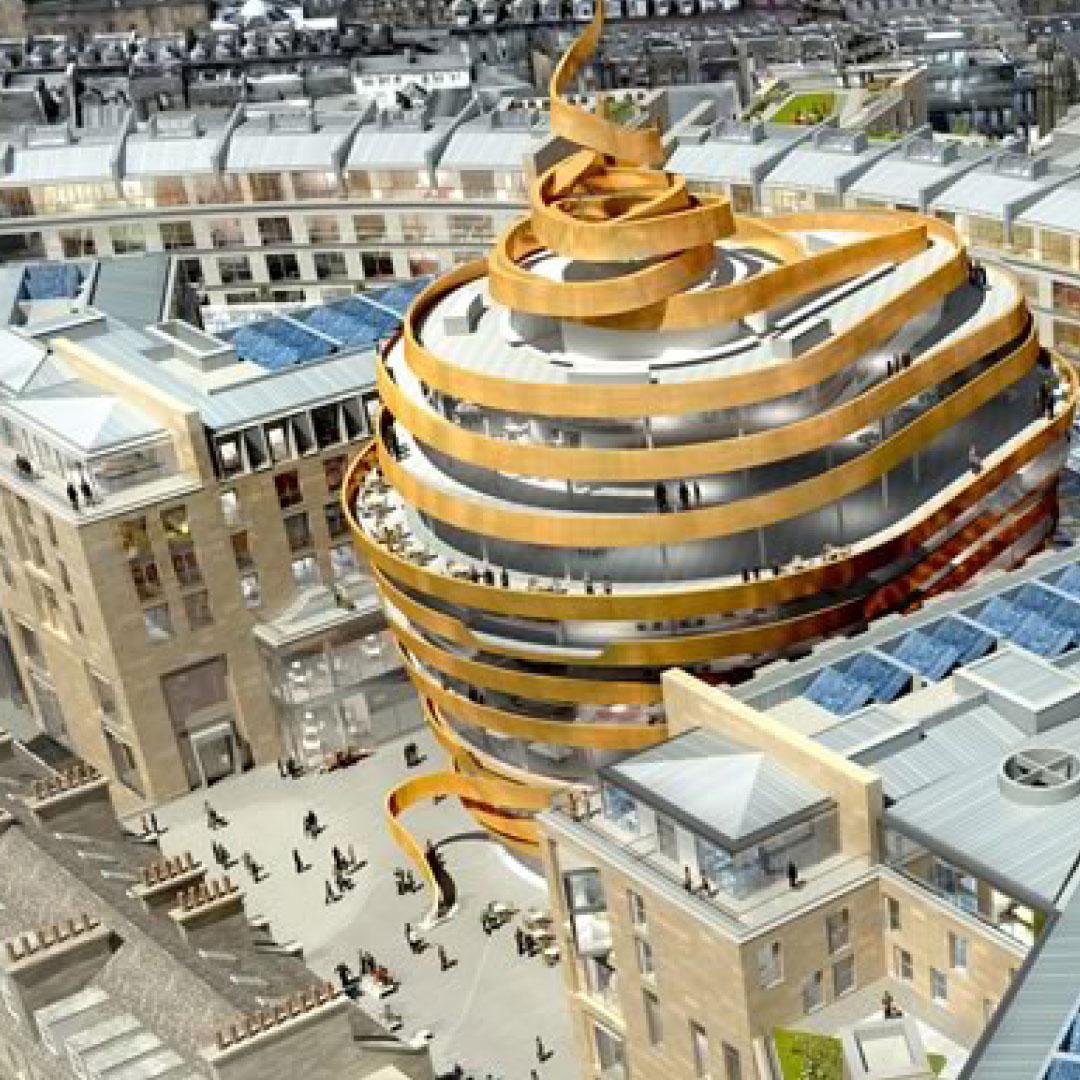 TH Real Estate's £850m Edinburgh St James regeneration granted planning consent