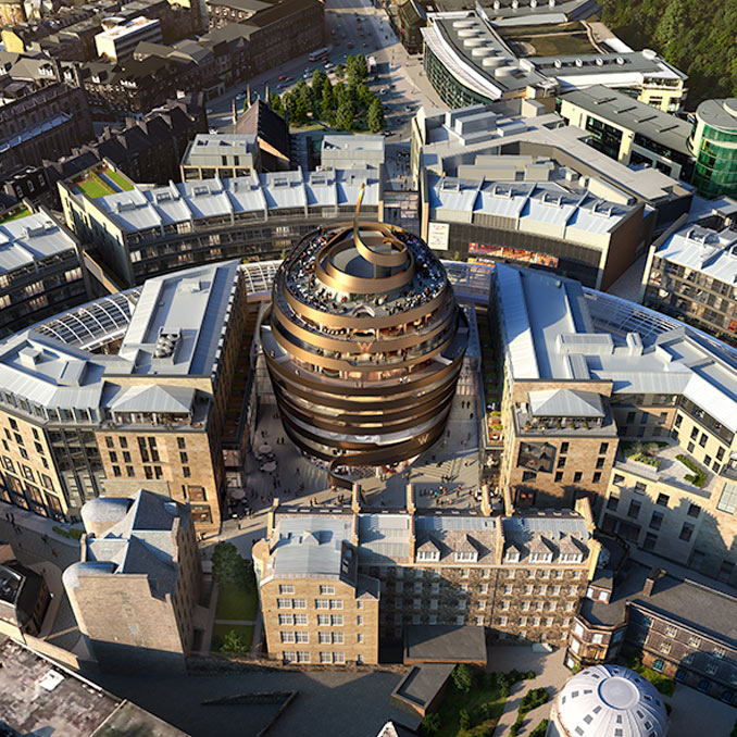 The countdown to the opening of Edinburgh St James begins