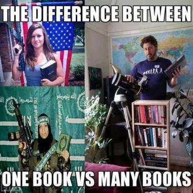 Image drole  Vous feriez mieux de lire les livres