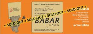 Babar, un Concert des enfants