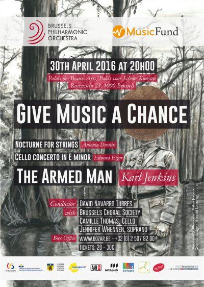 """Suites du concert """"Give Music a chance"""" du 30 avril 2016 à Bozar"""