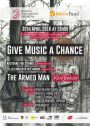 "Suites du concert ""Give Music a chance"" du 30 avril 2016 à Bozar"