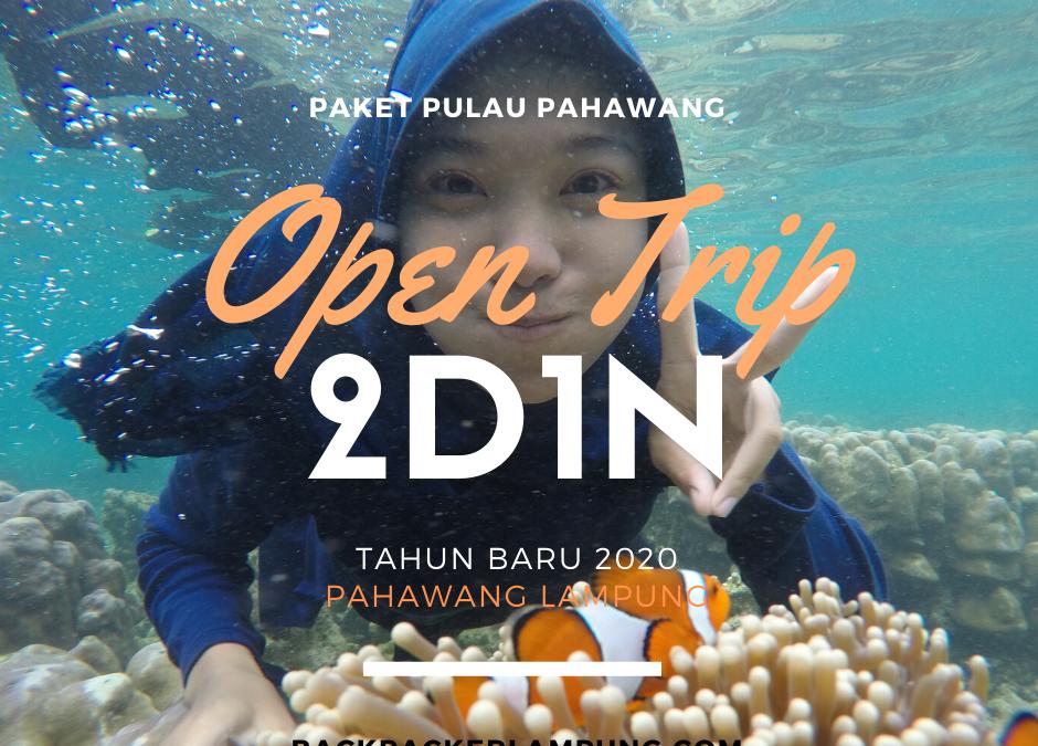 Paket Open Trip Pahawang Lampung Tahun Baru 2020 2D1N