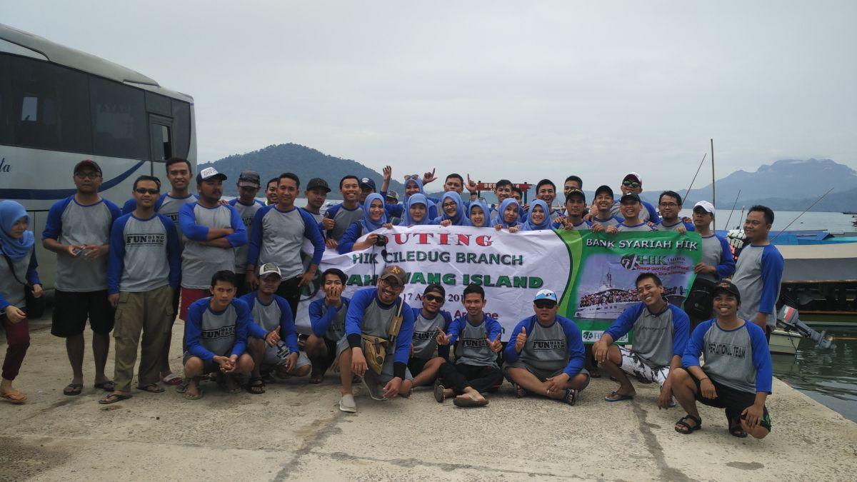 Backpacker Lampung – Outing HIK Ciledug Branch Ke Pulau Pahawang