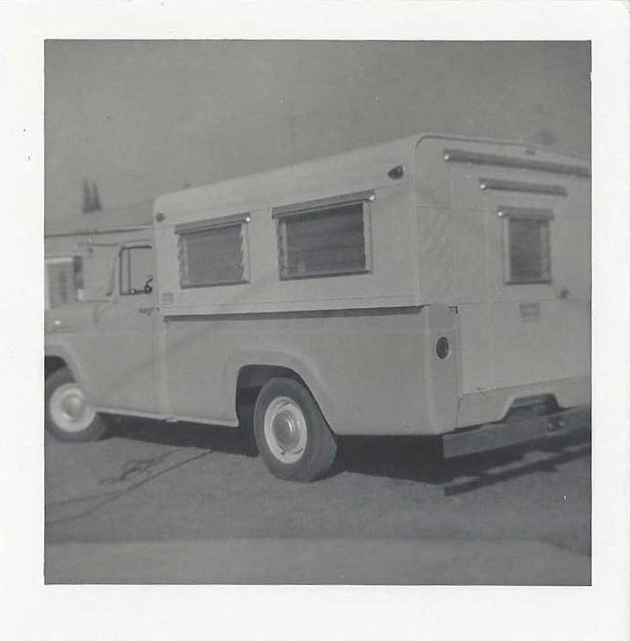 One of the original Callen Campers. Photo circa 1960
