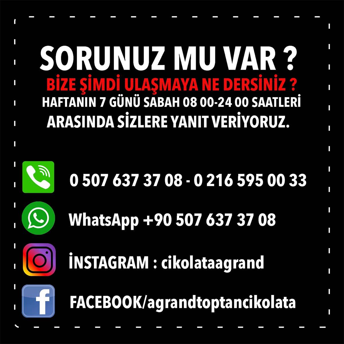 Agrand iletişim ve sosyal medya bilgilerimiz