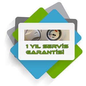 1 yıl servis Garantisi